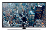 "Samsung UE55JU7002T 55"" 4K Ultra HD Compatibilità 3D Smart TV Wi-Fi Nero, Argento LED TV"