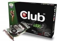 CLUB3D GeForce 6800GT 256MB GDDR3 DUAL(CGNX-G686DD) GDDR3