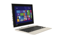 "Toshiba Satellite Click Mini L9W-B-102 1.33GHz Z3735F 8.9"" 1920 x 1200Pixel Touch screen Argento, Bianco Ibrido (2 in 1)"