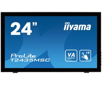 "iiyama ProLite T2435MSC-B1 23.6"" 1920 x 1080Pixel Multi-touch Nero monitor touch screen"