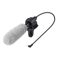 Sony ECM-CG60 Digital camera microphone Cablato Nero, Grigio