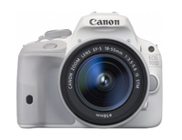 Canon EOS 100D + EF-S IS STM 18-55 mm f/3.5-5.6 Kit fotocamere SLR 18MP CMOS 5184 x 3456Pixel Bianco