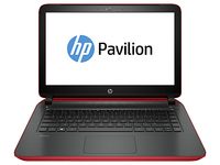 "HP Pavilion 14-v209tx 2.4GHz i7-5500U 14"" 1366 x 768Pixel Touch screen Rosso Computer portatile"