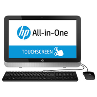 "HP 22-2124nf 1.8GHz A4-6210 23"" 1920 x 1080Pixel Touch screen Nero, Bianco PC All-in-one"