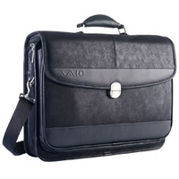 "Sony VAIO Leather Case f All Models 15.4"" Valigetta ventiquattrore Nero"