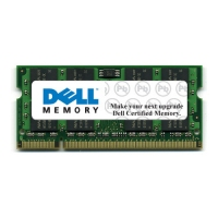 DELL 2GB, 800MHz, Latitude E5400/5500 Laptops, NON-ECC 2GB DDR2 800MHz memoria