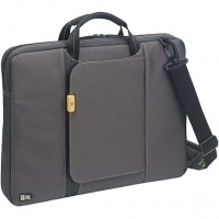 "Case Logic Hi-Tec Laptop Shuttle Case 17"" 17"" Grigio"