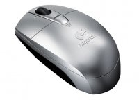 Logitech V200 Cordless Notebook Mouse silver RF Wireless Ottico Argento mouse