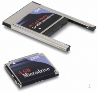 Lenovo 4GB MICRODRIVE W PC CARD 4GB disco rigido esterno