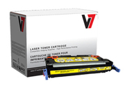 V7 HP Remanufactured Q7582A Yellow Toner Cartridge 6000pagine Giallo