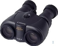 Canon Binocuars 8X25 IS webcam
