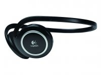 Logitech Wireless Headphones for MP3 Nero cuffia