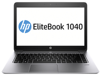 "HP EliteBook Folio 1040 G2 2.6GHz i7-5600U 14"" 1920 x 1080Pixel Touch screen 4G Argento Computer portatile"