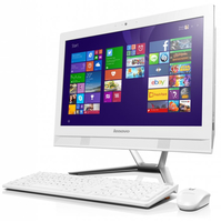 "Lenovo C 40-30 1.9GHz 3805U 21.5"" 1920 x 1080Pixel Touch screen Bianco PC All-in-one"