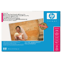 HP Premium Plus Satinata Bianco carta fotografica
