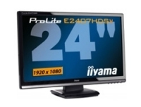 "iiyama ProLite Pro Lite E2407HDSV-1 24"" Full HD Nero monitor piatto per PC"