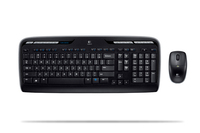 Logitech Wireless Desktop MK300, DE RF Wireless Nero tastiera