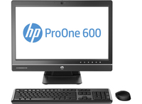 "HP ProOne 600 G1 3.6GHz i3-4160 21.5"" 1920 x 1080Pixel Argento PC All-in-one"