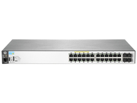 HP 2530-24G-PoE+ Managed network switch L2 Gigabit Ethernet (10/100/1000) Supporto Power over Ethernet (PoE) 1U Grigio