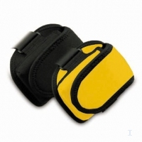 Macally iPod armband carrying case - Yellow Nero, Giallo
