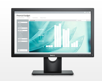 "DELL E Series E1916H 18.5"" HD TN Opaco Nero monitor piatto per PC"
