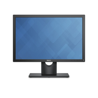 "DELL E Series E2016 19.5"" HD IPS Nero monitor piatto per PC"