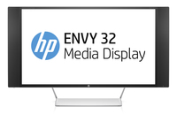 "HP ENVY 32 32"" UltraWide Quad HD WVA Opaco Nero, Argento, Bianco monitor piatto per PC"
