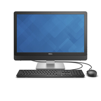 "DELL Inspiron 24 2.2GHz i5-6400T 23.8"" 1920 x 1080Pixel Touch screen Nero, Argento PC All-in-one"