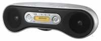 Sony ZS-SN10 Personal CD player Argento