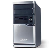 Acer Veriton VT6800 Intel 630 XPP(NL/FR/UK) P4 HT 3.0GHz/FSB800/2M 512MB DDR II 40 3GHz 630 Mini tower PC