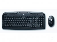 Logitech Cordless Desktop EX 110 US RF Wireless QWERTY Nero tastiera