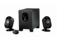 Logitech Speakers 2.1 X-210 25W Nero altoparlante