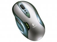 Logitech G7 Laser Cordless Mouse RF Wireless Laser 2000DPI mouse