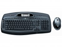 Logitech Cordless Desktop MX 5000 Laser Bluetooth QWERTY Nero tastiera