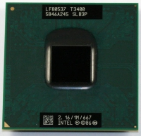 Intel Pentium ® ® Processor T3400 (1M Cache, 2.16 GHz, 667 MHz FSB) Socket P 2.16GHz 1MB L2 processore