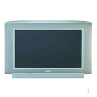 "Philips 28"" widescreen TV Crystal Clear III 28"" Argento TV CRT"