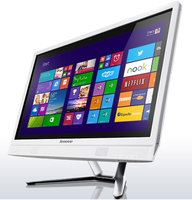 "Lenovo IdeaCentre C365 1.8GHz A4-6210 19.5"" 1600 x 900Pixel Bianco PC All-in-one"