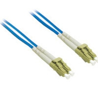 C2G 10m LC/LC Plenum-Rated Duplex 62.5/125 Multimode Fiber Patch Cable 10m Blu cavo a fibre ottiche