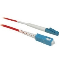 C2G 10m LC/SC Plenum-Rated 9/125 Simplex Single-Mode Fiber Patch Cable 10m LC SC Rosso cavo a fibre ottiche