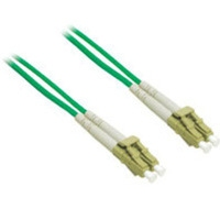 C2G 10m LC/LC Plenum-Rated Duplex 62.5/125 Multimode Fiber Patch Cable 10m Verde cavo a fibre ottiche