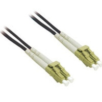 C2G 10m LC/LC Plenum-Rated Duplex 62.5/125 Multimode Fiber Patch Cable 10m Nero cavo a fibre ottiche