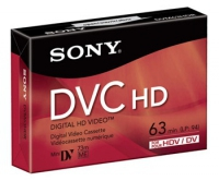 Sony DVM63HDR Video ?assette 63min 1pezzo(i) audio/videocassetta