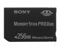Sony Memory Stick Pro Duo 256MB for PSP 0.25GB MS memoria flash