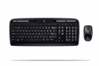 Logitech Wireless Desktop MK300, US RF Wireless Nero tastiera