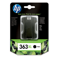 HP 363XL Black Ink Cartridge Nero cartuccia d