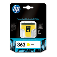HP 363 Yellow Ink Cartridge Giallo cartuccia d