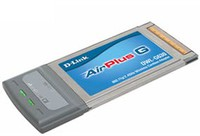 D-Link AirPlus G DWL-G630 Wireless Cardbus Adapter Interno 54Mbit/s scheda di rete e adattatore