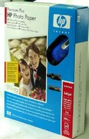 HP Premium Plus Photo Paper + Cordless Mouse carta fotografica