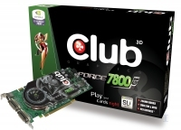 CLUB3D GeForce 7800GT Dual - DVI GDDR3