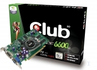 CLUB3D GeForceT 6600LE 256MB DDR TVD GDDR